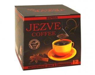 Кофе в пирамидках Jezve корица (Джезве) 72 г, в коробке 12 пирамидок