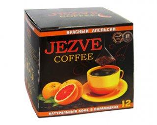 Кофе в пирамидках Jezve Красный Апельсин (Джезве) 72 г, в коробке 12 пирамидок
