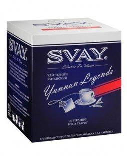 Чай Svay Yunnan Legends (Легенды Юннаня) черный (20саше по 2гр.)