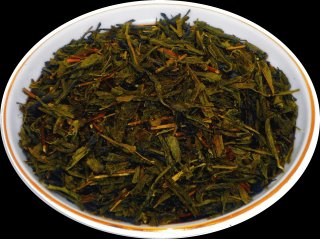 Чай зеленый  Японская Генмайча, 500 г, фольгированный пакет, крупнолистовой зеленый чай