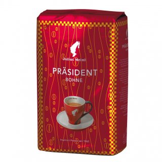 Кофе в зернах Julius Meinl Prasident (Юлиус Майнл Президент), 500 гр., вакуумная упаковка