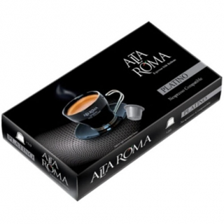 Кофе в капсулах Alta Roma Platino (Платино) формата Nespresso, 10 капсул в упаковке