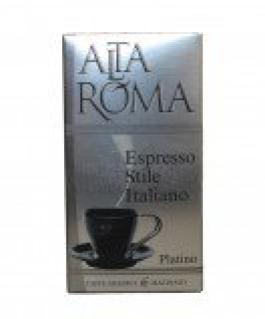 Alta Roma Platino (Альта Рома Платино), кофе молотый (250г), вакуумная упаковка