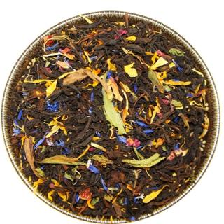 Чай Черный со стевией, 500 г, крупнолистовой ароматизированный чай