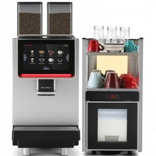 Аренда Dr. Coffee F2 суперавтоматическая кофемашина+стойка-холодильник с нагревом чашек