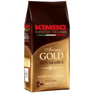 Кофе в зернах Kimbo Gold (Кимбо Голд), вакуумная упаковка 1кг