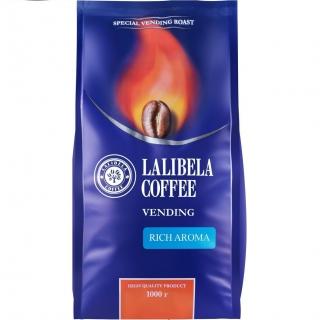 Кофе в зернах Lalibela Coffee Vending Rich Aroma (Лалибела кофе Рич Арома) 1 кг, вакуумная упаковка
