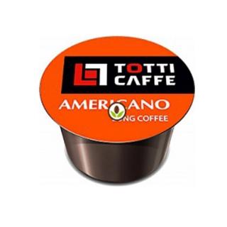 Кофе в капсулах Totti Caffe Americano формата Lavazza Blue (Тотти Кафе Американо), упаковка 100 капсул по 8 г
