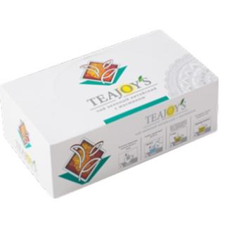 Чай зеленый TEAJOYS Китайский байховый, пакетики с ярлычками, 100 саше по 2 г.
