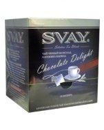 Чай Svay Chocolate Delight (Шоколадное искушение) Черный в саше (20саше по 2гр.)
