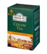 Чай черный Ahmad Ceylon Tea Orange Pekoe (Ахмад Цейлонский чай Оранж Пеко), картонная коробка 200г.
