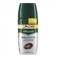 Кофе растворимый Jacobs Monarch Millicano 95 г. сублимированный ,стеклянная банка