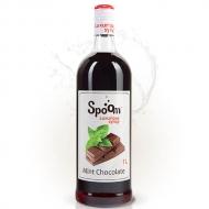 Сироп SPOOM (Спум) Шоколад с мятой, 1 л