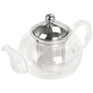Чайник для чая Жасмин стеклянный, 800 мл