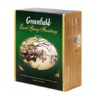 Чай черный Greenfield Earl Grey Fantasy пакетированный 100 пакетиков в упаковке
