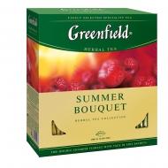 Чай фруктовый Greenfield Summer Bouquet пакетированный 100 пакетиков в упаковке