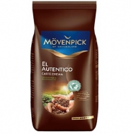 Кофе в зернах Movenpick El Autentico (Мовенпик Эль Аутентико), 1 кг, вакуумная упаковка