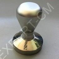 Темпер сталь с регулируемой по высоте ручкой (серебро) основание 57,5ммТемпер сталь с регулируемой по высоте ручкой (серебро) основание 57,5мм