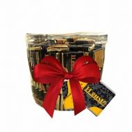 Подарочный набор Порционный шоколад ТЕМНЫЙ, по 5 гр
