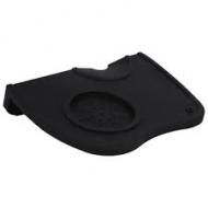 Силиконовая черная подставка под темпер и холдер LF 170х110,5мм