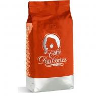 Кофе в зернах Carraro caffe Don Cortez Red (Карраро Дон Кортез Красный), 1 кг, вакуумная упаковка
