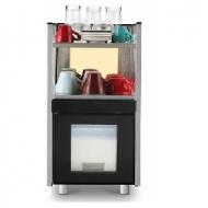 Аренда холодильного оборудования Dr. Coffee с емкостью для молока и месмтом для подогрева чашек