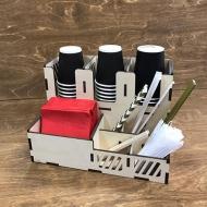 Органайзер для кофейных стаканчиков на 9 отделений