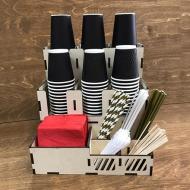 Органайзер для кофейных стаканчиков на 12 отделений
