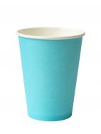 Стакан бумажный D.R.V. (ДИ.АР.ВИ.) под горячие напитки БИРЮЗОВЫЙ, 400 мл, 50 шт./упак.