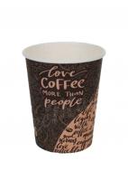 Стакан бумажный D.R.V. (ДИ.АР.ВИ.) под горячие напитки COFFEE, 250 мл, 50 шт./упак.