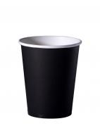Стакан бумажный D.R.V. (ДИ.АР.ВИ.) под горячие напитки ЧЕРНЫЙ, 250 мл, 50 шт./упак.