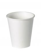Стакан бумажный D.R.V. (ДИ.АР.ВИ.) под горячие напитки БЕЛЫЙ, 250 мл, 50 шт./упак.