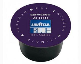 Кофе в капсулах Lavazza BLUE Espresso Delicato (Лавацца Блю Эспрессо Деликато) для кофемашин Лавацца Блю, упаковка 100 капсул