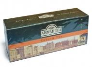 Чай черный Ahmad Ceylon Tea (Ахмад Цейлонский чай), пакетики с ярлычками, 25 пак. по 2г.