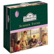 Чай черный Ahmad Summer Thyme (Ахмад Летний Чабрец), пакетики с ярлычками в конверте из фольги, 100 саше по 1.8г.