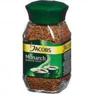 Кофе растворимый Jacobs Monarch 95 г. сублимированный ,стеклянная банка