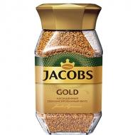 Кофе растворимый Jacobs Gold 95 г. сублимированный ,стеклянная банка