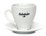 Кофейная пара Ambassador, чашка (50мл) + блюдце