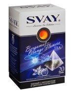 Чай Svay Bergamot-Orange Flowers черный с бергамотом и цветами апельсина (20 пирамидок в уп.)